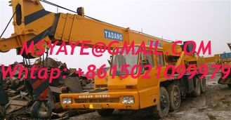China 40T TADANO TRUCK Crane for sale TG-400E 1996 supplier