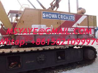 China 50T kobelco crawler crane 7055,Indonesia Malaysia Philippines supplier