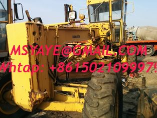China GD511A komatsu Motor Grader earthmoving equipment used japan supplier