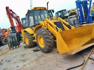 China Used jcb digger 3CX front end loader heavy machinery backhoe factory