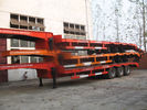 China 50t 70t 100t  low bed Semi-trailer with tri-axle excavator trailer.good quality low loader factory