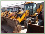 China Used   Backhoe Loader JCB 3CX for Sale  4 in 1 bucket on  peknis engine   Construction Equipment | Backhoe Loaders factory