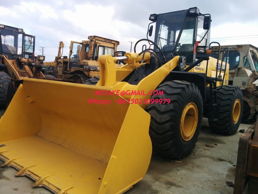 Wa380 3 2012 Komatsu Used Wheel Loader For Sale Front End