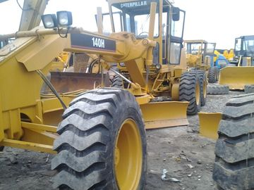 140H Used motor grader caterpillar cat grader for sale