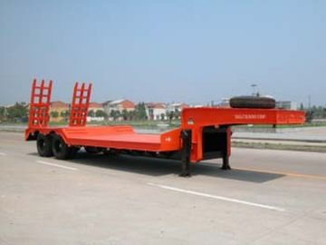 50t 70t 100t brand new china  low-bed Semi-trailer