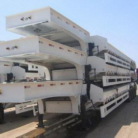 brand new china  lowbed Semi-trailer with 4-axles excavator trailer. excavator trailer