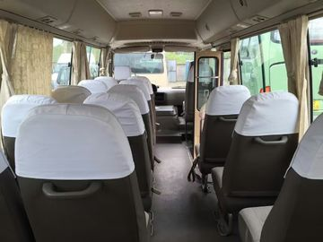 23 seats used Toyota diesel coaster bus left hand drive   engine 6 cylinder   japan coaster bus toyota