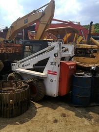 used Backhoe loader mini bobcat for sale 2012 s130 s160 made in original UK located in china